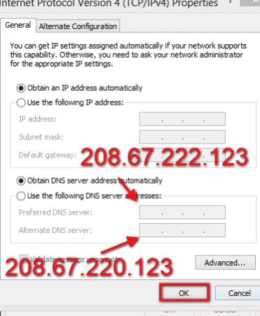 حظر المواقع الاباحية بدون برامج