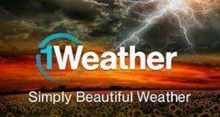 تحميل برنامج 1weather للاندرويد لمعرفة احوال الطقس غدا و اليوم
