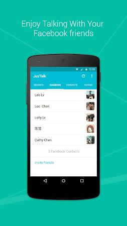رابط تحميل تطبيق JusTalk