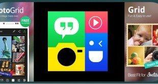 تحميل تطبيق Photo Grid تعديل الصور و دمج صور الاندرويد