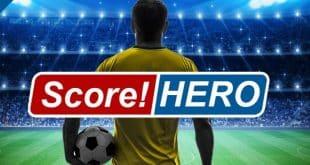 لعبة كرة القدم score hero 2017