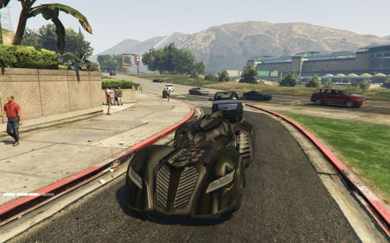 لعبة GTA v حرامي سيارات 5