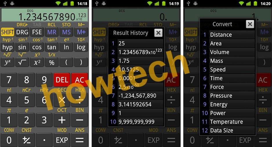تحميل تطبيق RealCalc Scientific Calculator