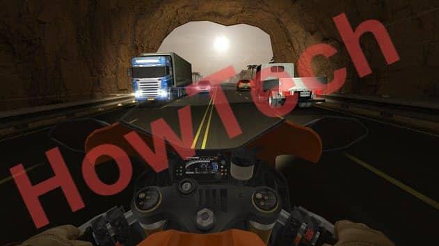 شرح لعبة سباق الدراجات النارية Traffic Rider