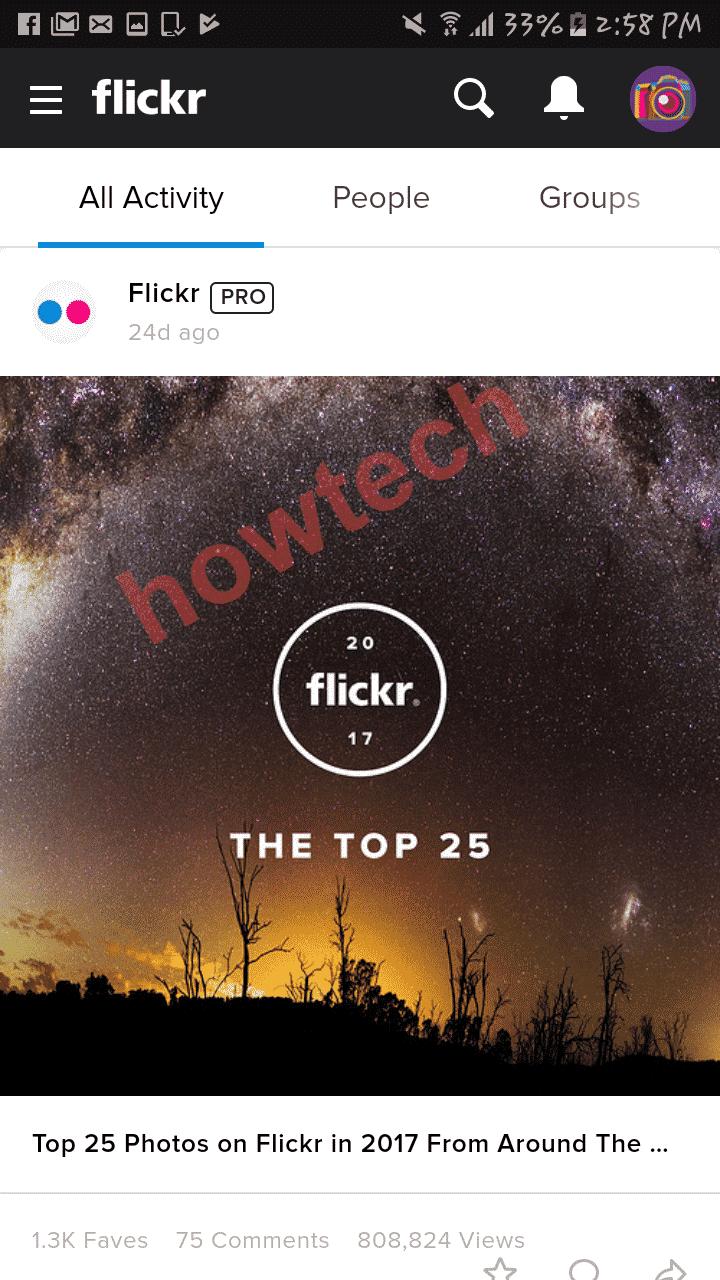 تعرف على اهم مميزات برنامج flickr