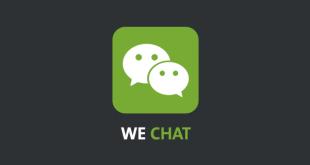 تطبيق وي شات للمحادثة