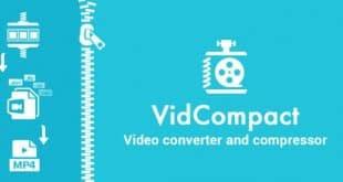 تحميل برنامج ضغط الفيديو vidcompact