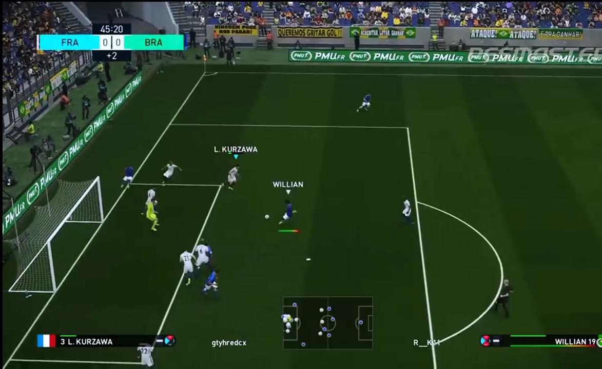 مهارات عالية لعبة PES 2018