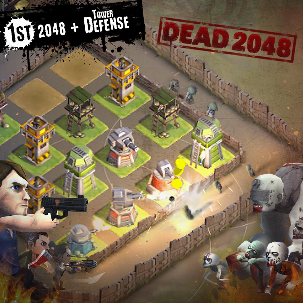 تنزيل لعبة الزومبي ، DEAD 2048