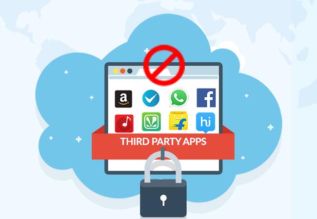 تطبيقات الطرف الثالث، Third-Party Apps