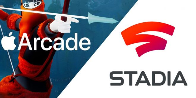 Google Stadia , Apple Arcade