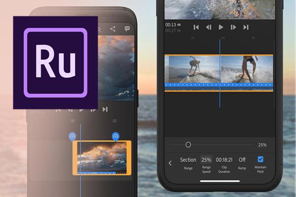 تطبيق Adobe Premiere Rush