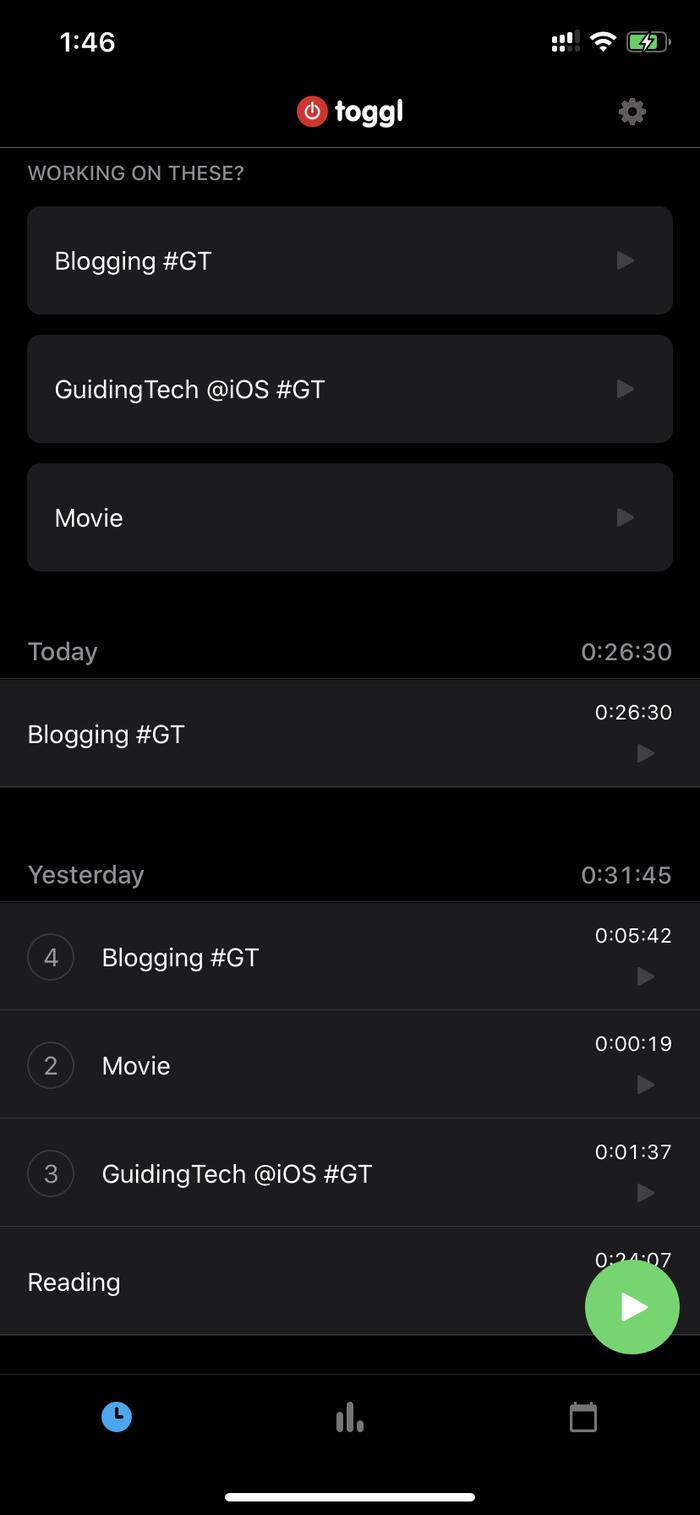 تطبيقات تتبع الوقت